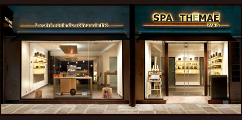 Spa Thémaé, Paris, France<br />Open on Sunday